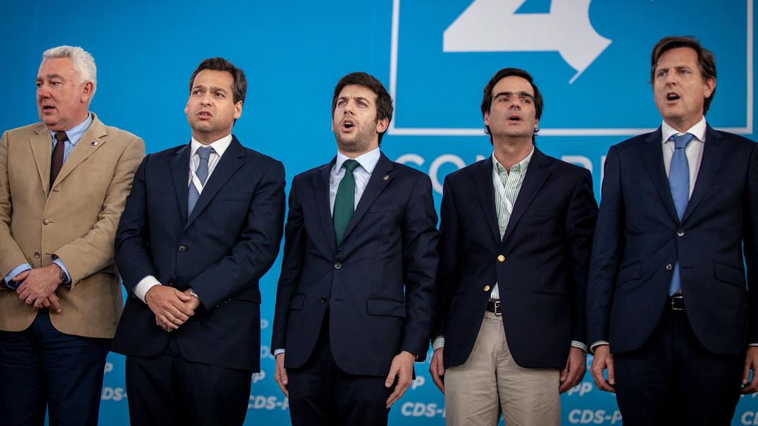 """CDS/Congresso: Novo líder afirma """"papel insubstituível"""" para """"combater as esquerdas"""""""
