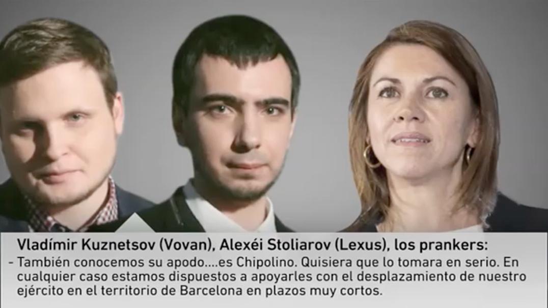 Humoristas russos enganam ministra espanhola
