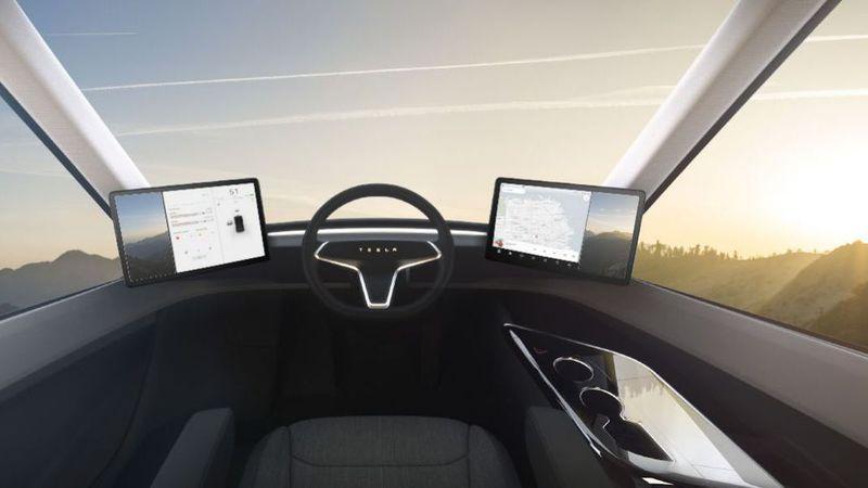 Super camião da Tesla trouxe novo Roadster de 200.000 dólares a reboque