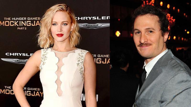 Jennifer Lawrence e Darren Aronofsky separados