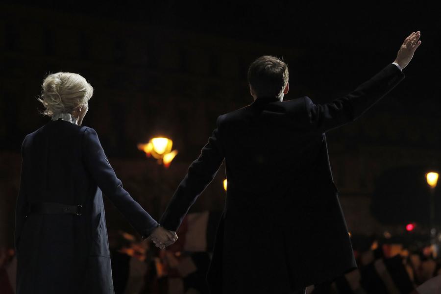 Brigitte Macron: de professora a primeira-dama de França