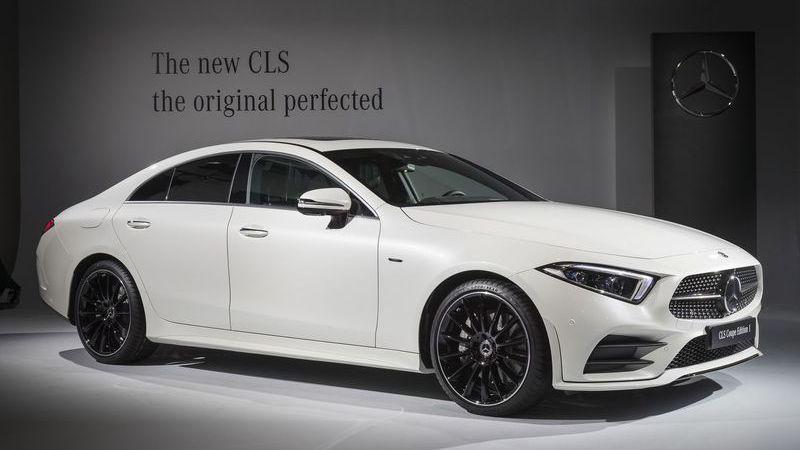 Novo Mercedes-Benz CLS apresentado em Los Angeles