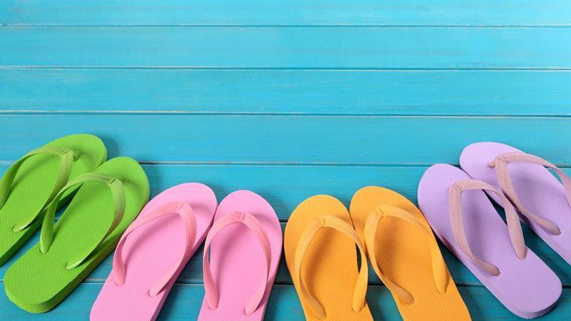 Saiba porque deve usar chinelos com moderação no verão