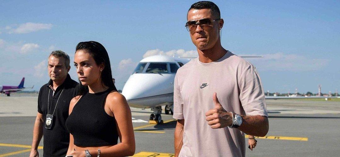 Juventus divulga a primeira imagem de Cristiano Ronaldo em Turim
