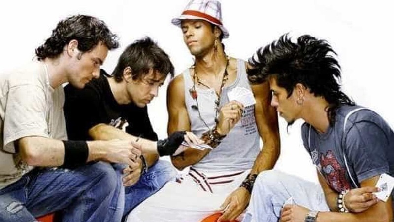 Dez anos após o último concerto, D'ZRT voltam a encontrar-se. Eis a foto
