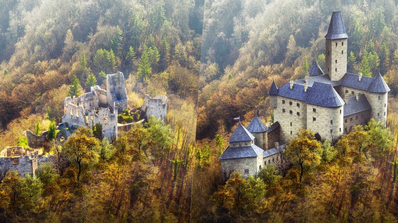 Assim eram 7 castelos europeus quando foram construídos
