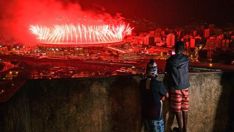 As 50 melhores fotos da semana desportiva