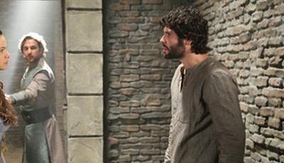 Esta semana em 'O Rico e o Lázaro', Joana reencontra Asher