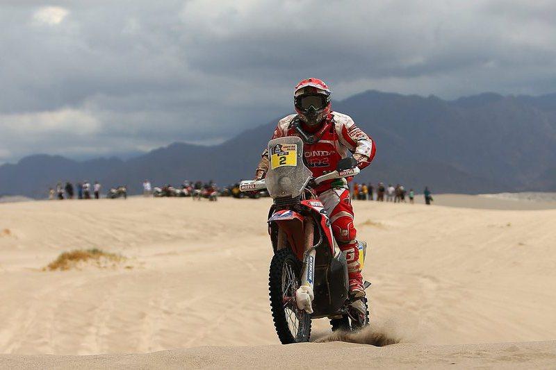 Paulo Gonçalves em terceiro na primeira etapa do Atacama Rally
