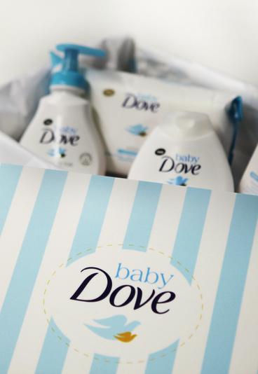 Habilite-se a ganhar um kit Baby Dove com vários produtos