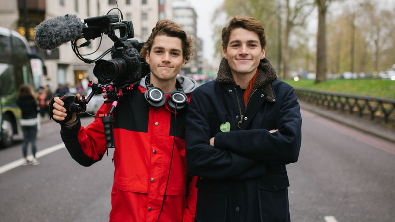 Harries Twins: dois youtubers que arriscam tornar-se cidadãos exemplares