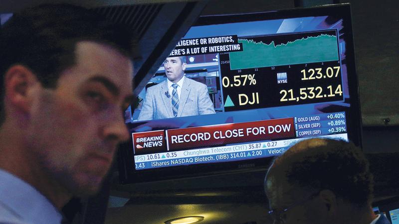 Wall Street abre 'flat' com ligeiras subidas
