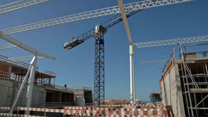 Construção continua a crescer no segundo trimestre, apesar de quebra nas obras públicas