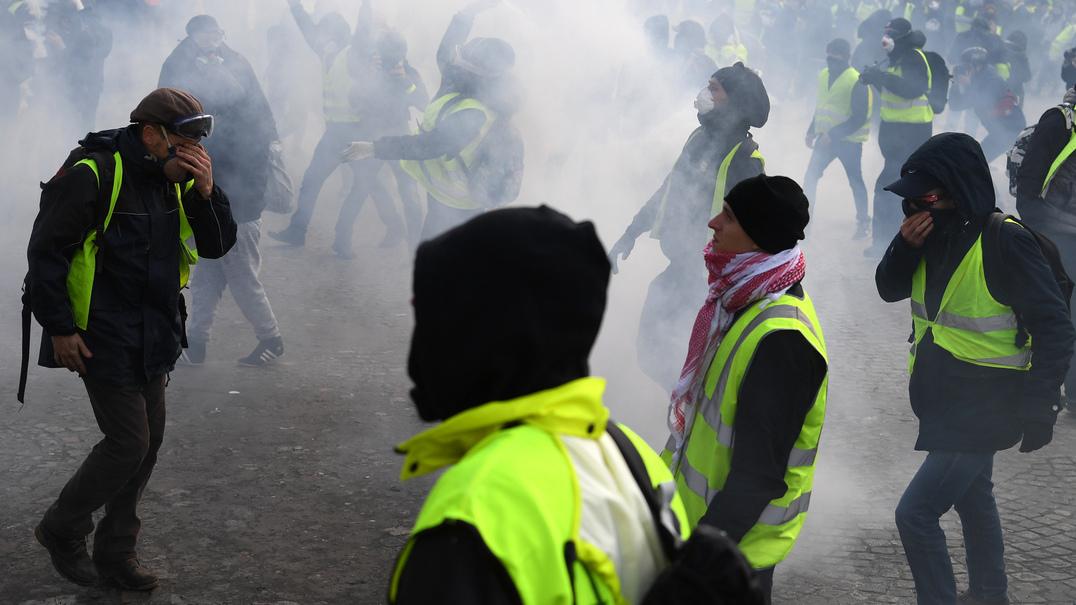 """Manifestação dos """"coletes amarelos"""" portugueses está a ser organizada por fascistas?"""