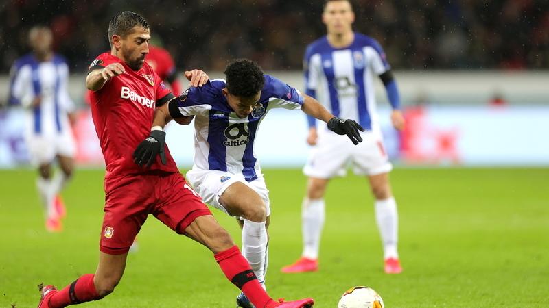 Leverkusen 2-1 FC Porto: 'Farmacêuticos' dão 'dor de cabeça' que pode ser curada na segunda-mão
