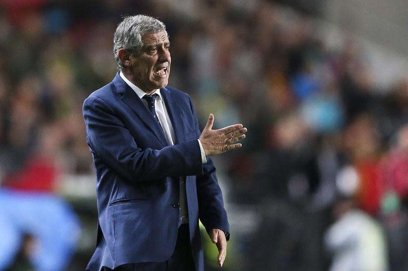 """Fernando Santos: """"Vamos estar no Mundial para dar alegrias aos portugueses"""""""