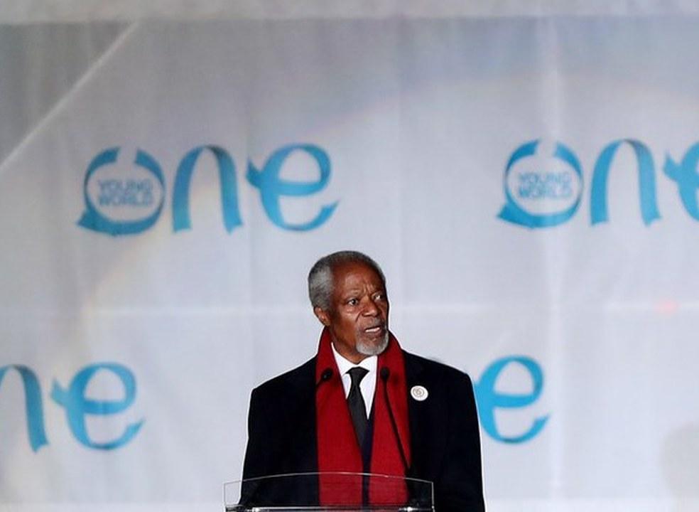 Morreu Kofi Annan, ex-secretário geral da ONU