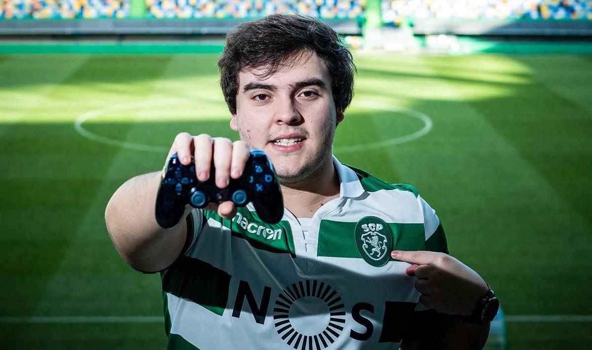 """Jogador do Sporting """"RastaArtur"""" irá representar Portugal no torneio Cologne Cup de FIFA 19"""