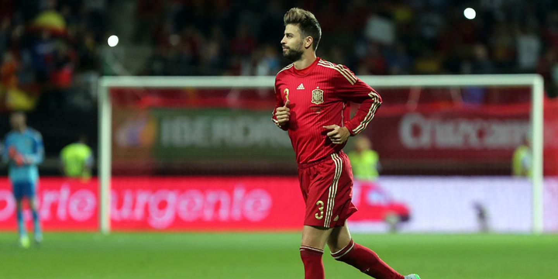 Piqué ausente do primeiro treino da seleção espanhola