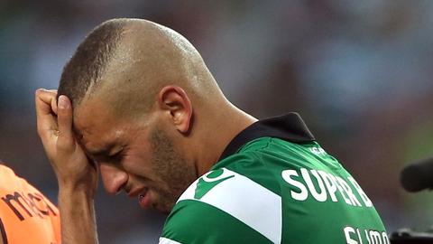 Slimani despediu-se de Alvalade em lágrimas