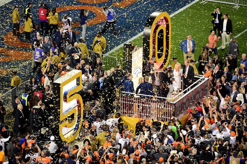 As melhores imagens do Super Bowl 50