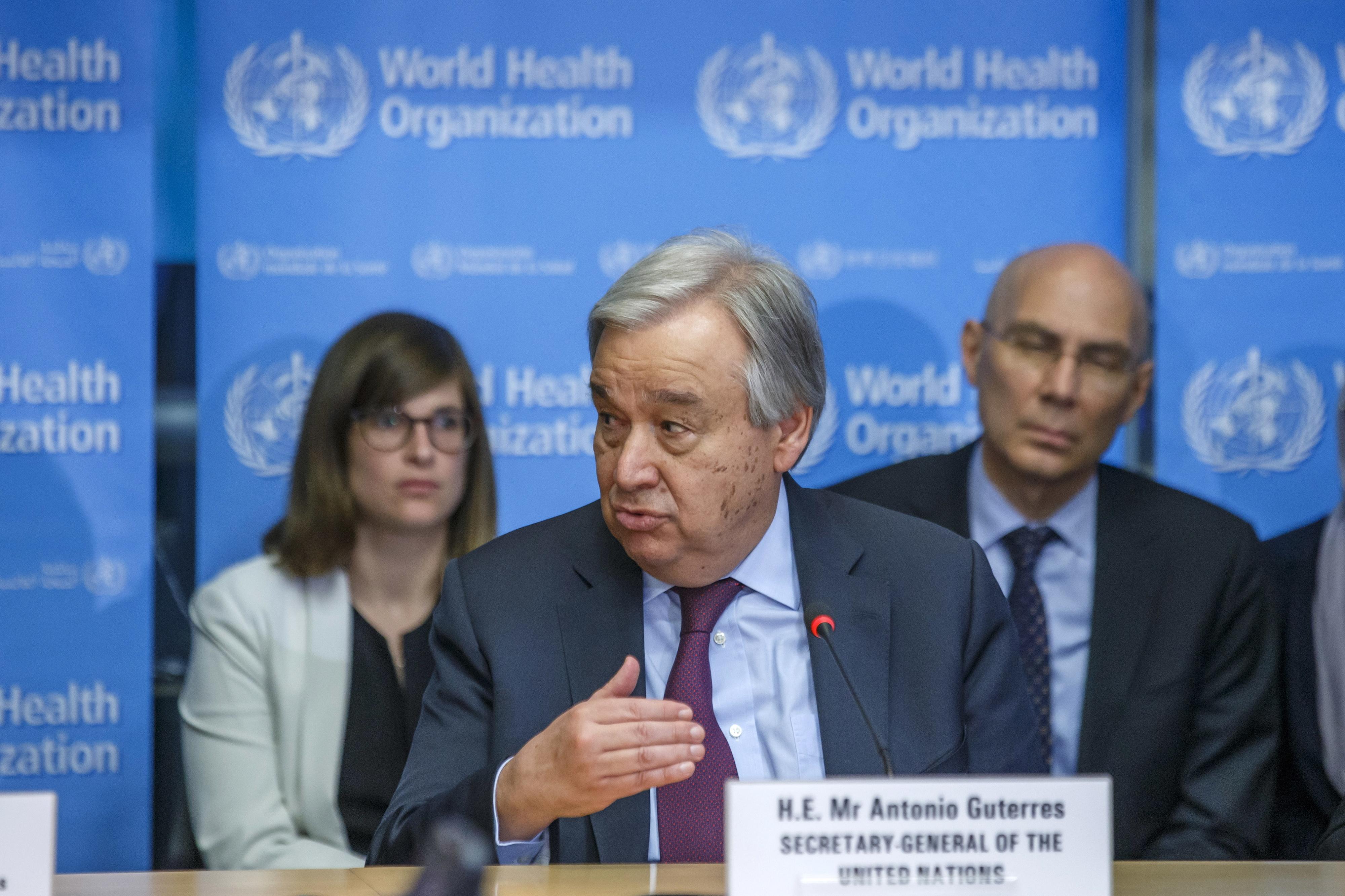 """Guterres pede """"apoio massivo"""" para países em desenvolvimento"""
