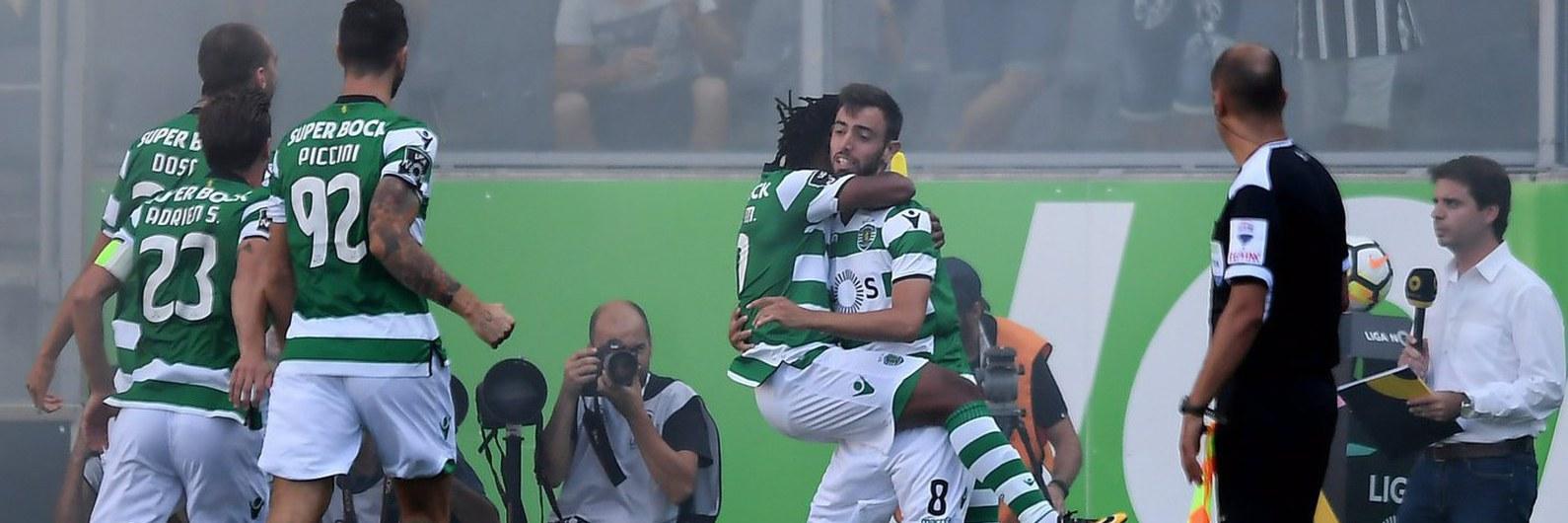 Leão ´assalta` o Castelo ´à bomba` e ganha moral para a Champions