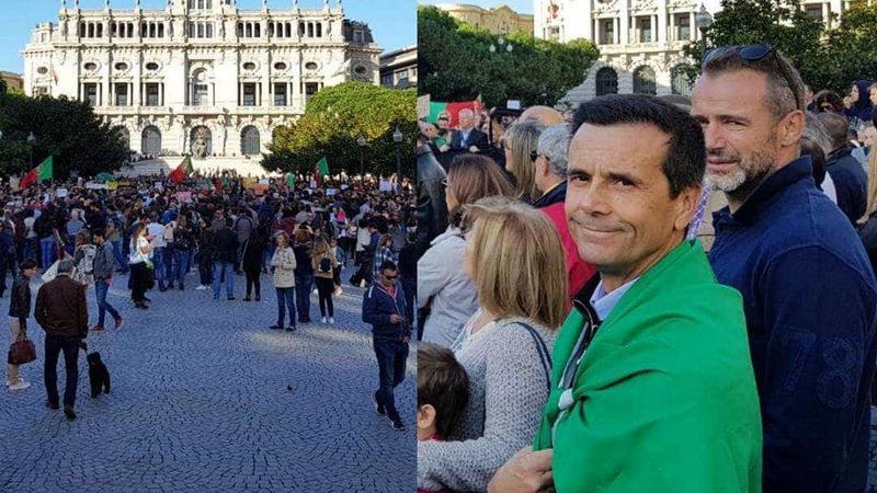 Famosos marcam presença nas manifestações 'Portugal contra os incêndios'