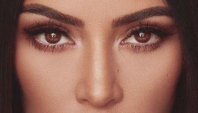 Estamos em choque: Kim Kardashian dorme com maquilhagem