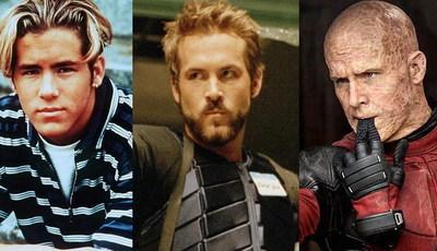 De miúdo adorável a Deadpool destravado: as muitas caras (e físicos) de Ryan Reynolds