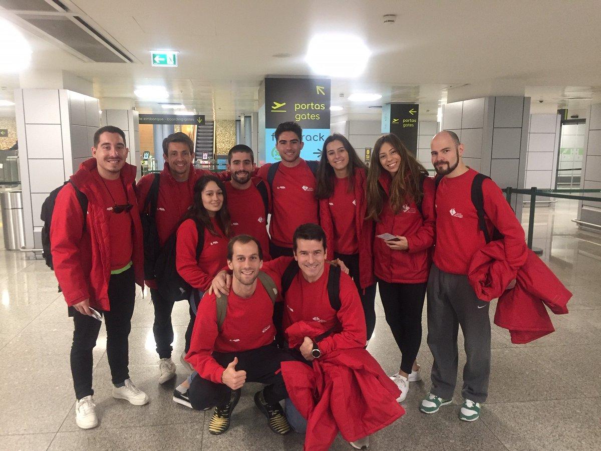 Portugal apura-se para duas finais na Taça do Mundo de trampolins
