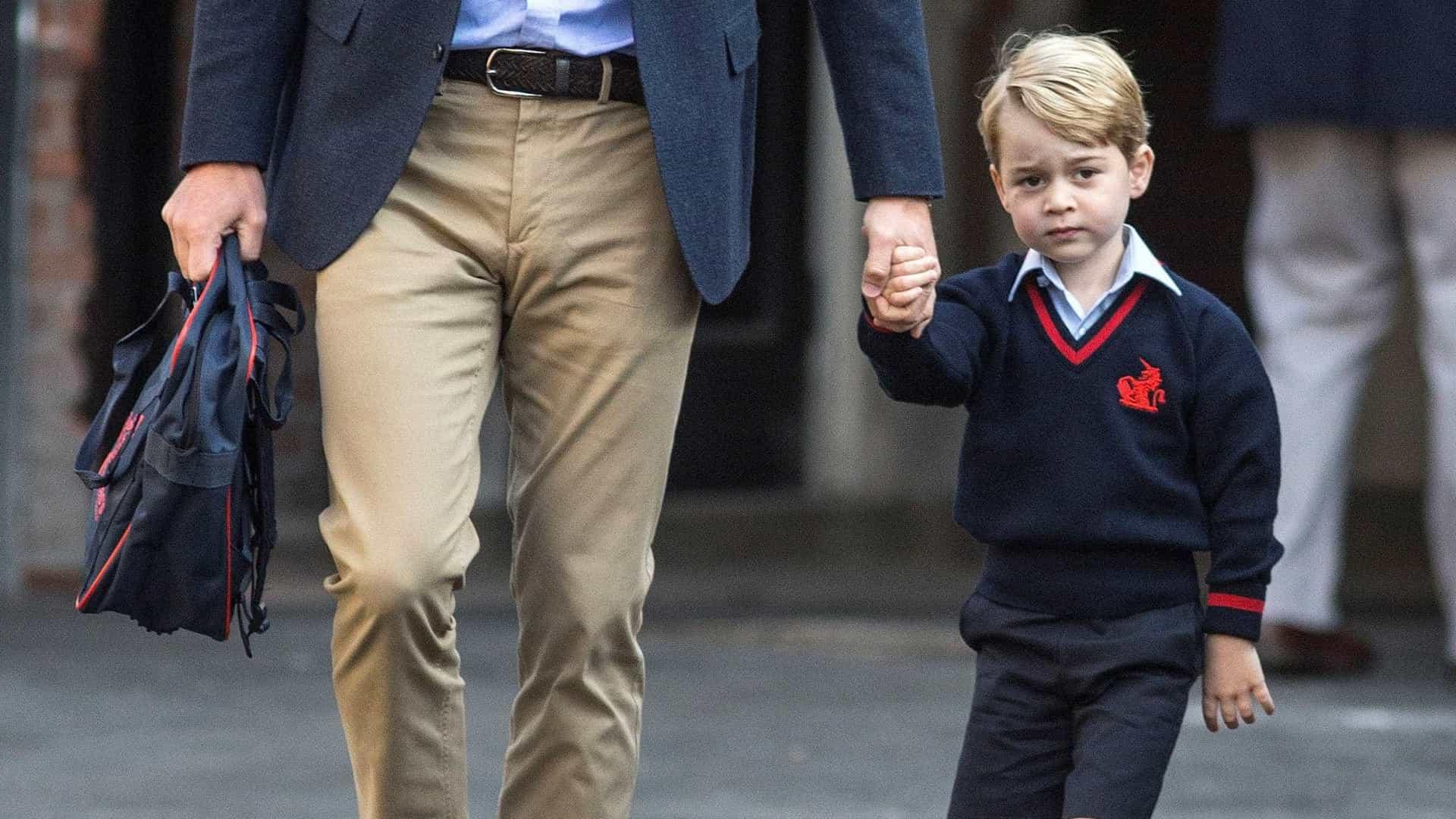 Amigos de George terão de ser investigados antes de entrarem no palácio