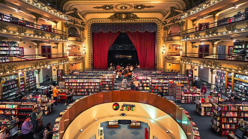 As 20 livrarias mais bonitas do mundo. Portugal incluído