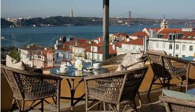 Quatro razões para ir a estas esplanadas em Lisboa