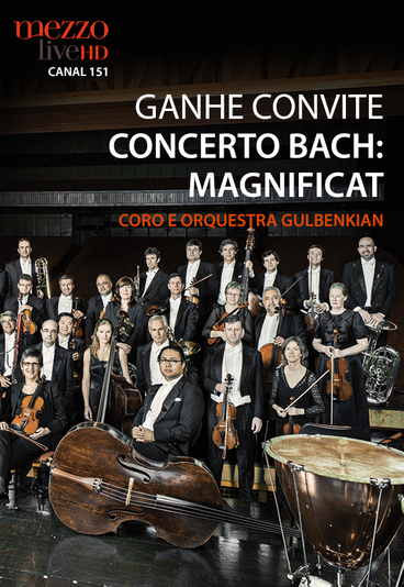 Ganhe convites duplos para assistir ao concerto Bach: Magnificat, na Gulbenkian em Lisboa
