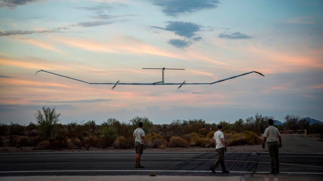 Drone solar da Airbus voa há 25 dias sem parar. É um novo recorde