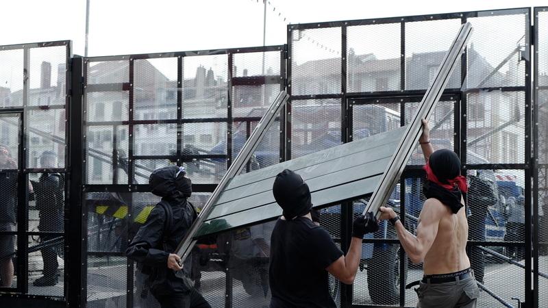 Sessenta e oito pessoas detidas por protestos contra a cimeira do G7