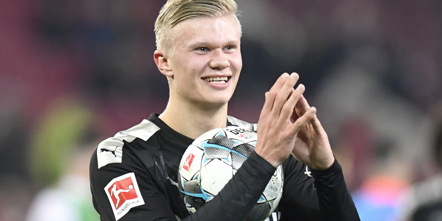 Borussia Dortmund: A estreia de Haaland é uma história de 23 minutos com três golos