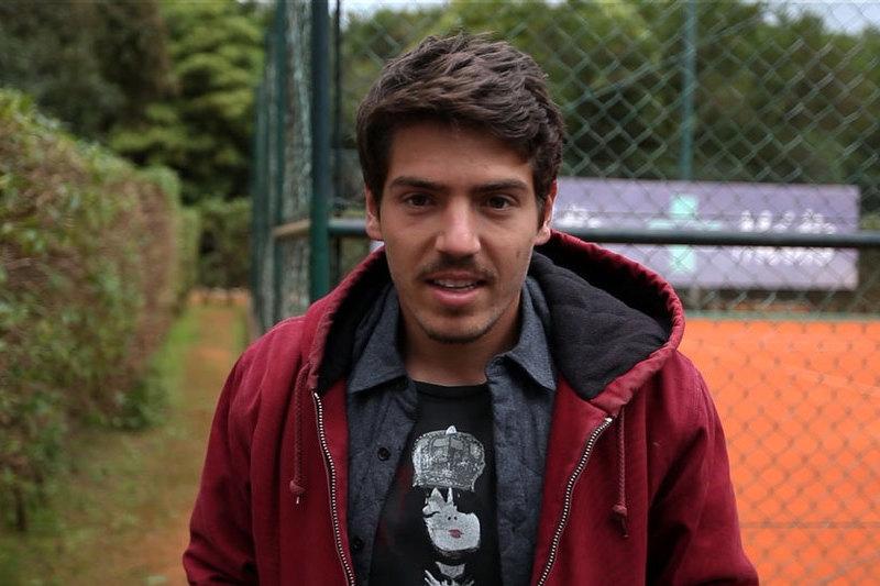 O tenista João Domingues é o novo protagonista da rubrica Break Point