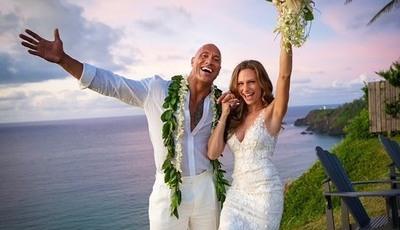 Dwayne Johnson explica porque decidiu casar-se antes das 8 da manhã