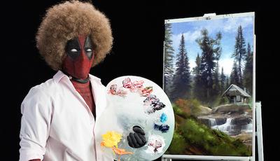 """""""Deadpool 2"""": Super-herói revela """"talento"""" para a pintura no primeiro trailer"""
