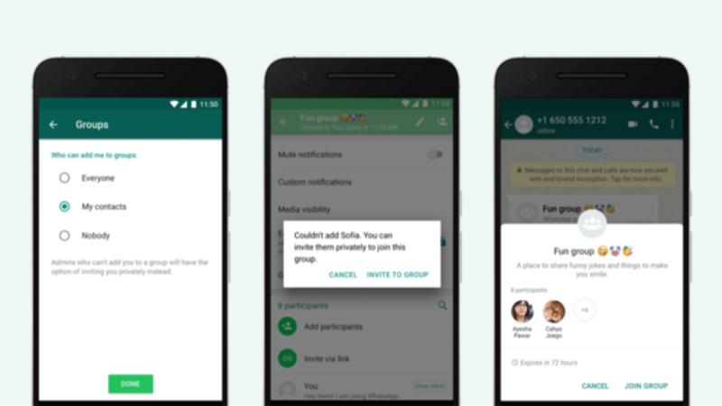 WhatsApp pode proibir as capturas de ecrã na app para smartphones