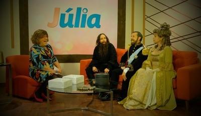 Herman José faz nova paródia com programa de Júlia Pinheiro