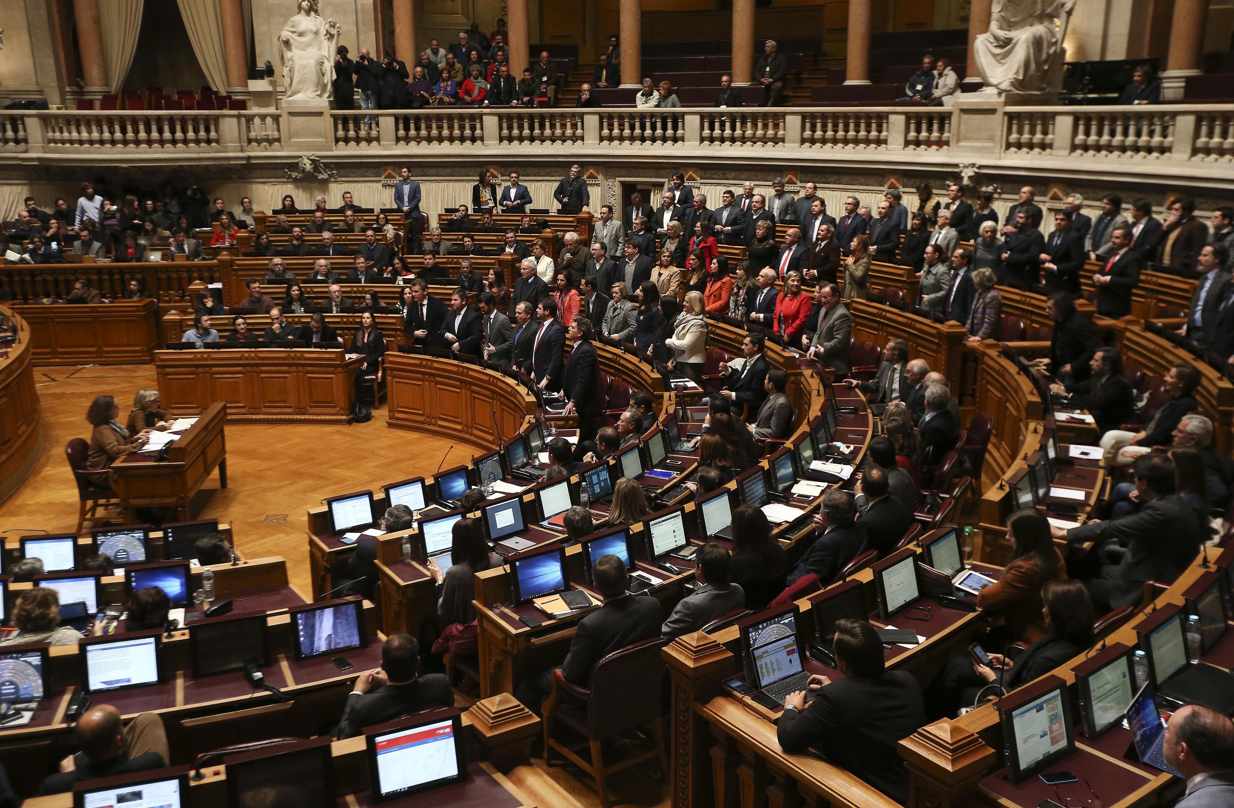 Deputados debatem hoje proposta do PS que impede 'cobrador do fraque'