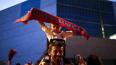 Rotunda da Boavista volta a ser o palco dos festejos encarnados no Porto
