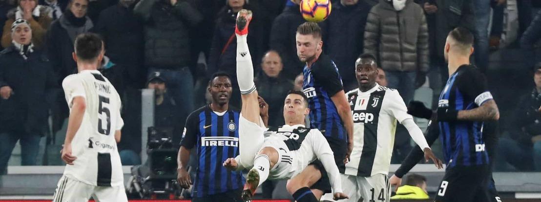 Covid 19: Juventus-Inter encabeça lista de jogos à porta fechada em Itália devido ao coronavírus
