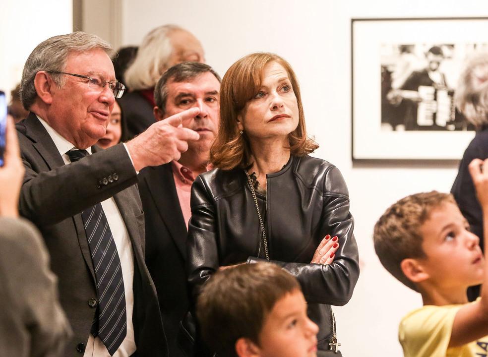"""Atriz Isabelle Huppert mostrou em Sintra as suas """"muitas faces"""""""