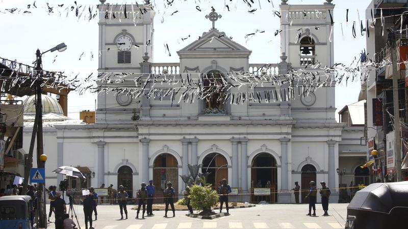 Sri Lanka reduz em mais de 100 o número de mortos em atentados