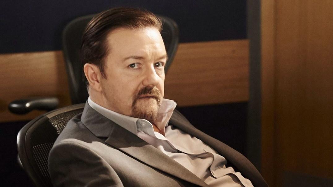"""The Ellen Show"": 'Donald Trump' assusta Ricky Gervais"