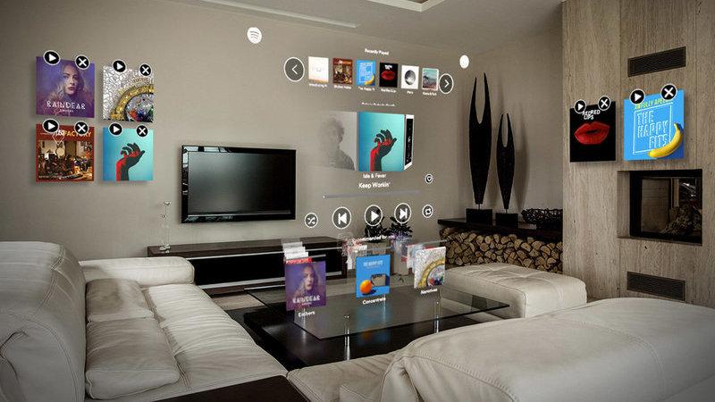 Crie ambientes sonoros virtuais em sua casa com o Spotify para Magic Leap